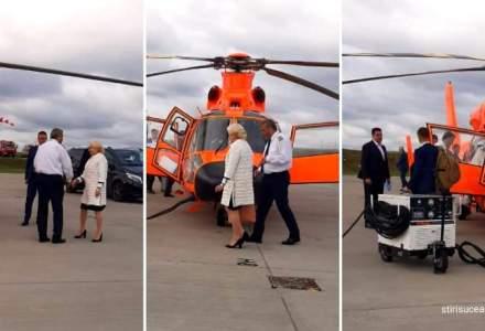 USR: Banii cu care Dancila a platit elicopterul, din taxe