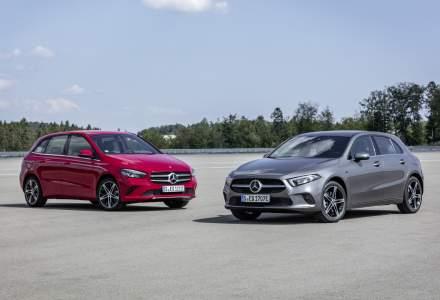 Mercedes-Benz Clasa A si Clasa B primesc versiuni plug-in hybrid: autonomie electrica de pana la 69 de kilometri