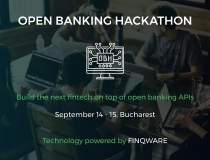 Primul Open Banking Hackathon...