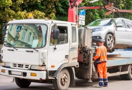 Primaria Capitalei a ridicat deja un numar de 7 masini care blocau statiile RATB si intrarea in spitale
