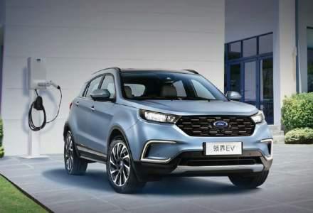 Ford a lansat primul sau model electric. SUV-ul este la vanzare pe piata chineza la un pret sub 30.000 dolari