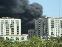 Incendiu mare in zona de nord...