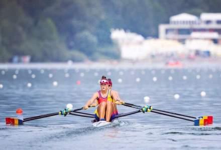 Canotaj: Medalie de argint pentru Romania, in proba feminina de dublu vasle, la Mondiale