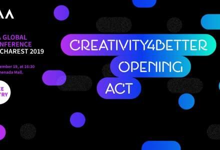 """Creativity4Better"" Opening Act - primul eveniment din seria de experiente sub umbrela ""Creativity4Better"" Hub"