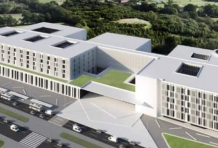 Spitalul Regional din Cluj va avea 849 de paturi, 7 etaje si heliport. Indicatorii tehnico-economici au fost aprobati, luni, de Guvern