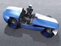 Doi romani proiecteaza masini...