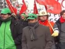 Protest la Bruxelles fata de...