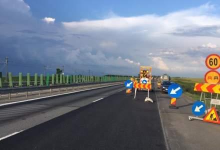 Restrictii de trafic pe Autostrada Soarelui din cauza unor lucrari care se vor incheia in luna noiembrie