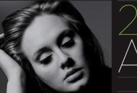 "Albumul ""21"" al lui Adele a fost cel mai bine vandut in 2012 in toata lumea"