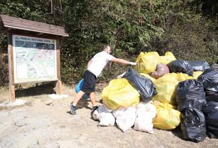 Nestle a colectat 40 tone de deseuri din Parcul National Cozia