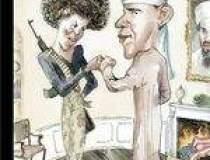 Obama este infatisat in...