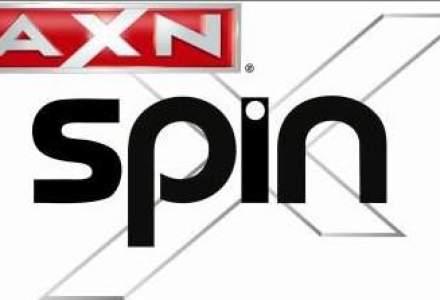 Canalul pentru adolescenti si tineri AXN Spin intra in grila Romtelecom