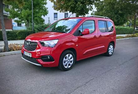 Test drive cu Opel Combo Life, un vehicul recreational pentru familie