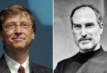 """Bill Gates l-a laudat pe Steve Jobs pentru abilitatile sale de leadership, insa il invidia pentru capacitatea de a """"hipnotiza"""" publicul"""