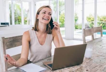 Angajatii care muncesc de acasa sunt mai fericiti si raman mai mult in companii