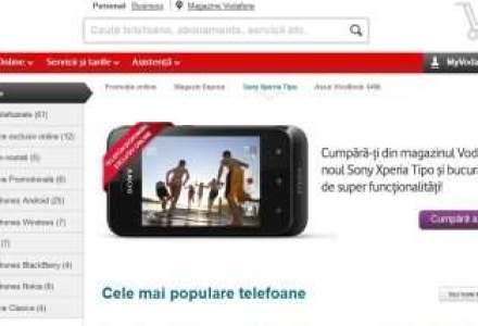 Vodafone: Abonamentele de voce, extraoptiunile de internet si smartphone-urile au printre cele mai mari vanzari in magazinul online