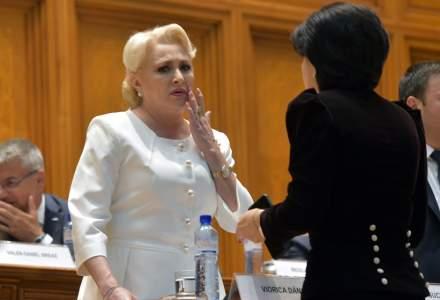 Parlament: Opozitia a depus motiunea de cenzura. Pentru a fi adoptata sunt necesare 233 de voturi