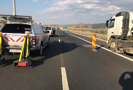 Autostrada Orastie-Sibiu are NOI probleme: Viteza redusa la 60 km/h