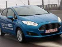 Test cu noul Ford Fiesta, cel...