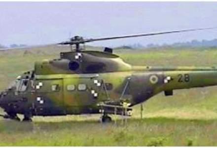 Un elicopter militar s-a prabusit in Bacau. Accidentul are 2 morti si 3 raniti