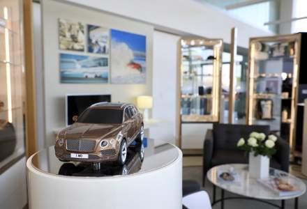 Cum arata noul showroom Bentley din Bucuresti. Investitie de 400.000 euro