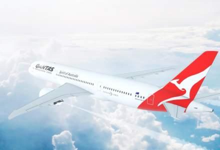 Un avion al companiei Qantas a realizat cel mai lung zbor fara escala din lume, dupa ce anul trecut a deschis ruta Perth - Londra