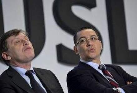 Victor Ponta l-ar invinge pe Crin Antonescu la prezidentiale