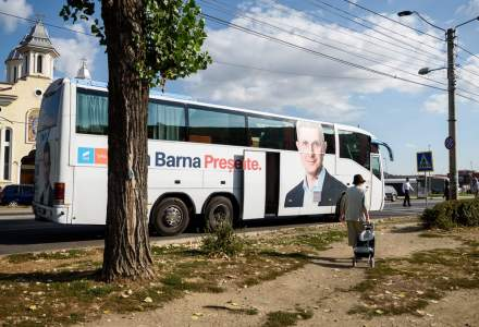 Masinile acoperite cu mesaje electorale si imaginile candidatilor, interzise in campanie