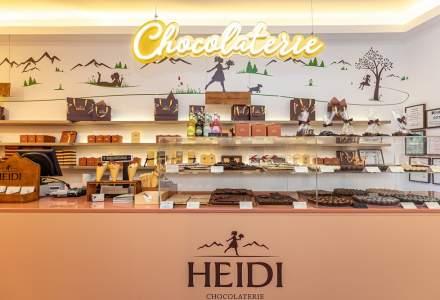 Heidi Chocolat a deschis primul pop-up shop cu ciocolata in centrul Bucurestiului