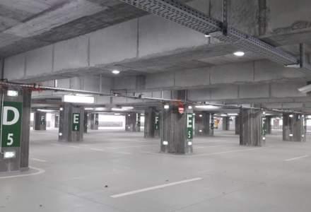 Parcarea terminalului multimodal Straulesti, in valoare de 77 de milioane de euro din Bucuresti, este aproape goala