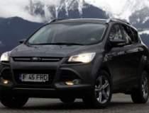 Test cu noul SUV Ford, un...