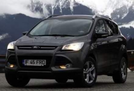 Test cu noul SUV Ford, un Kuga mai inteligent