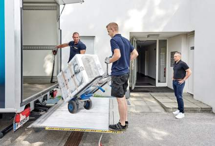 (P) Gebruder Weiss Home Delivery: livrare la domiciliu nisata pe colete grele