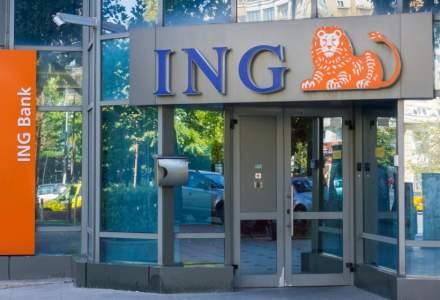 ING raporteaza un declin al profitului