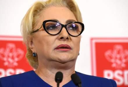 Dancila, dupa ce a iesit din biserica: Sa ii dea Dumnezeu gandul bun lui Iohannis si sa ma voteze