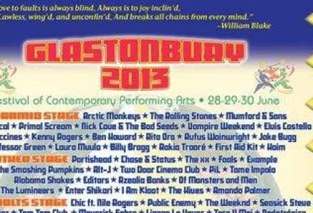 FESTIVAL UNIC. The Rolling Stones va canta pentru prima data la Glastonbury