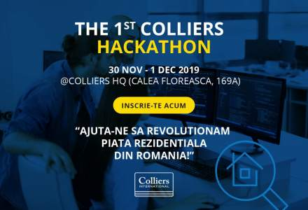 Hackathon Colliers: compania de consultanta cauta programatori si startup-uri pentru divizia de Banking Products