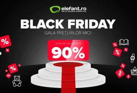 Elefant.ro da startul Black Friday 2019 pe 12 noiembrie, iar campania de shopping incepe cu Singles' Day, pe 11 noiembrie