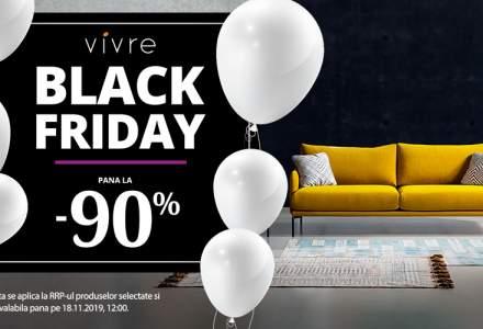 Black Friday 2019 la Vivre: reduceri de pana la 90% la mobilier