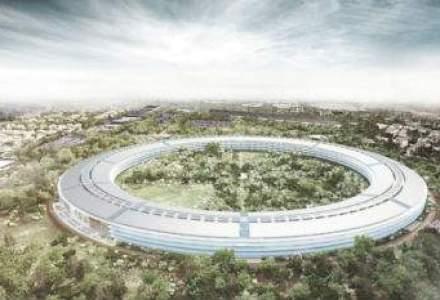Bugetul pentru noul sediu al Apple a crescut de aproape doua ori, la 5 miliarde de dolari
