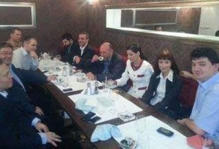 Basescu s-a intalnit, la un restaurant, cu initiatorii Miscarii Populare