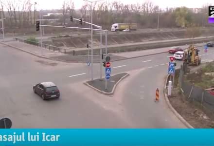 Un pod de 100 de milioane de lei care ar fluidiza traficul in Bucuresti e 96% gata, dar nu poate fi folosit