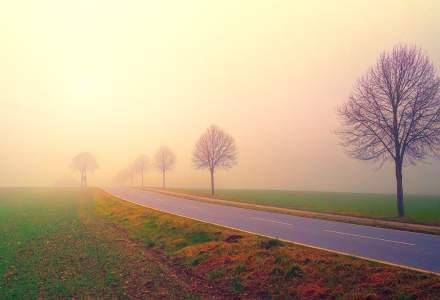 Cod galben de ceata densa in 14 judete