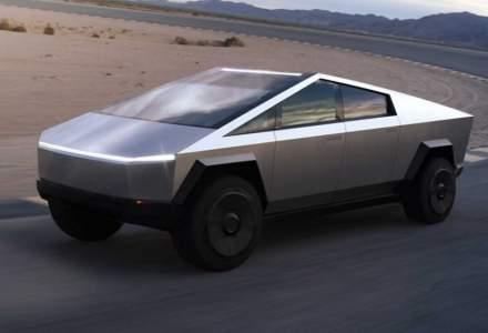 Tesla a primit comenzi peste asteptari pentru camionul electric Cybertruck, in ciuda incidentului de la lansare