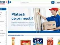 Carrefour intra pe piata de...