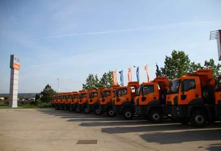 Cefin Trucks a livrat 1.000 de camioane Ford Trucks, in Romania