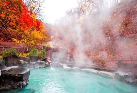 Izvoarele termale japoneze, ultimul trend in materie de relaxare