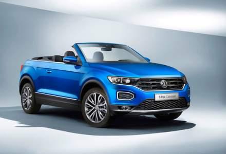 Volkswagen a inceput productia lui T-Roc Cabrio