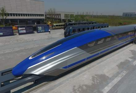 """China a dezvaluit un tren """"mai rapid decat avionul"""""""