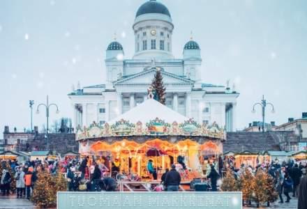 Se deschide Targul de Craciun din Helsinki. Care este atractia principala?